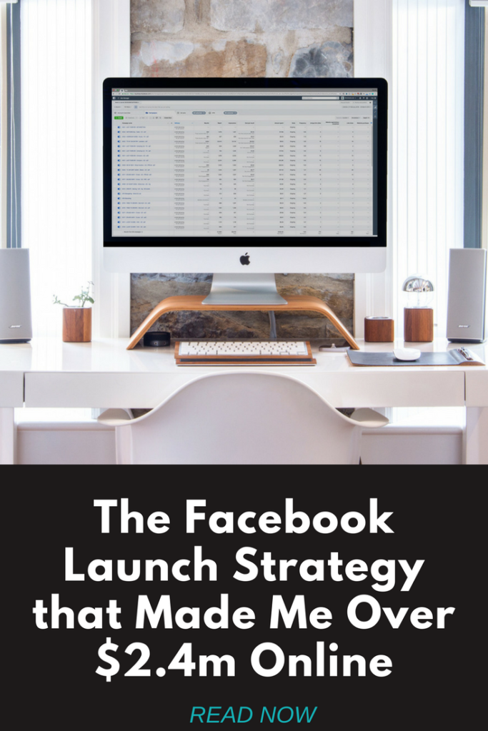 The Facebook Launch Strategy the Made Me Over $2.4m Online. #ecommerce #shopify #dropshipping #printondemand #business #smallbusiness #makemoneyonline
