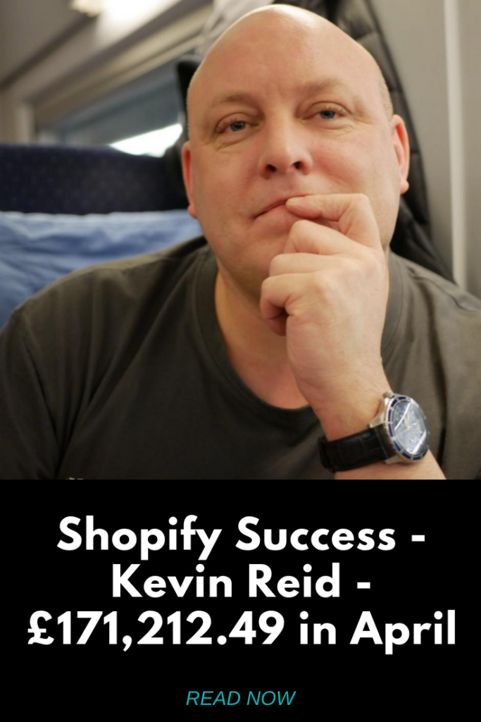 Shopify Success Kevin Reid