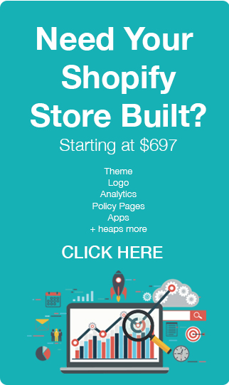 Shopify Store Build Banner